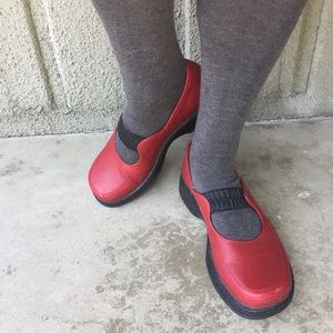 Dansko Red Mary Janes size 37